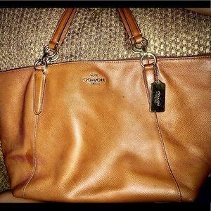 Coach Gold Trim Handbag